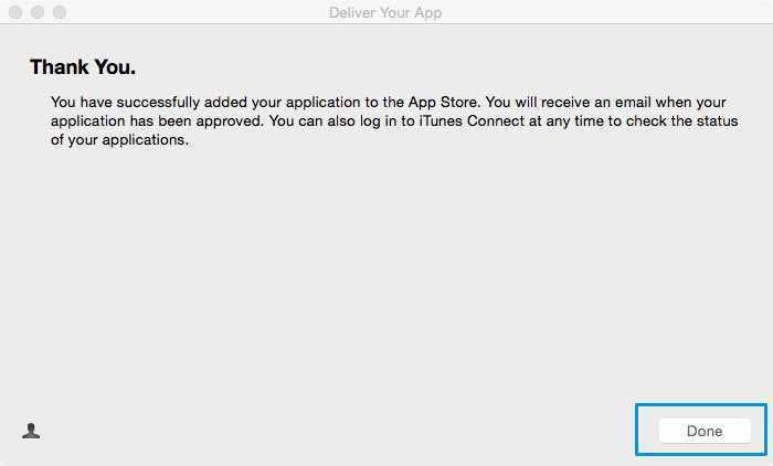 How to upload your app via Application Loader on iTunes Connect