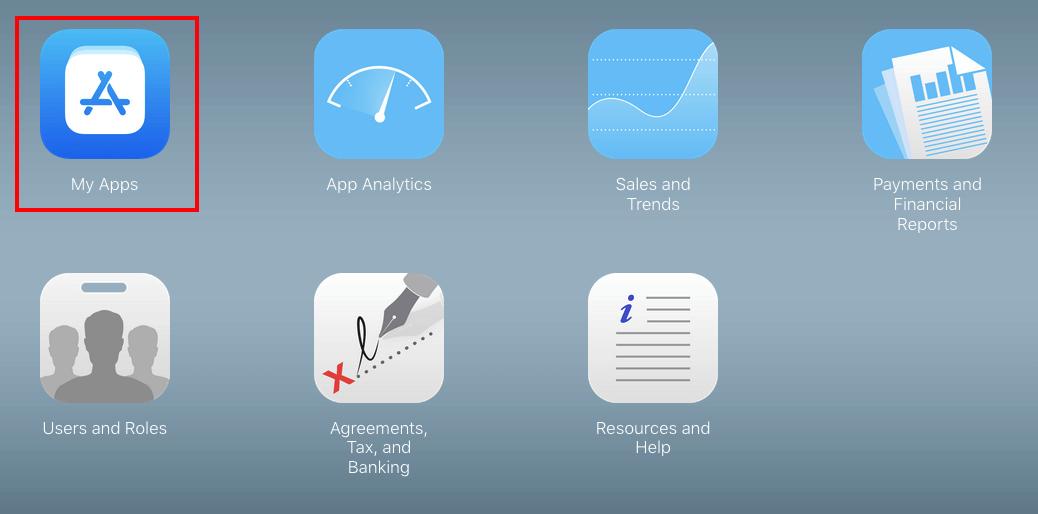 create a app