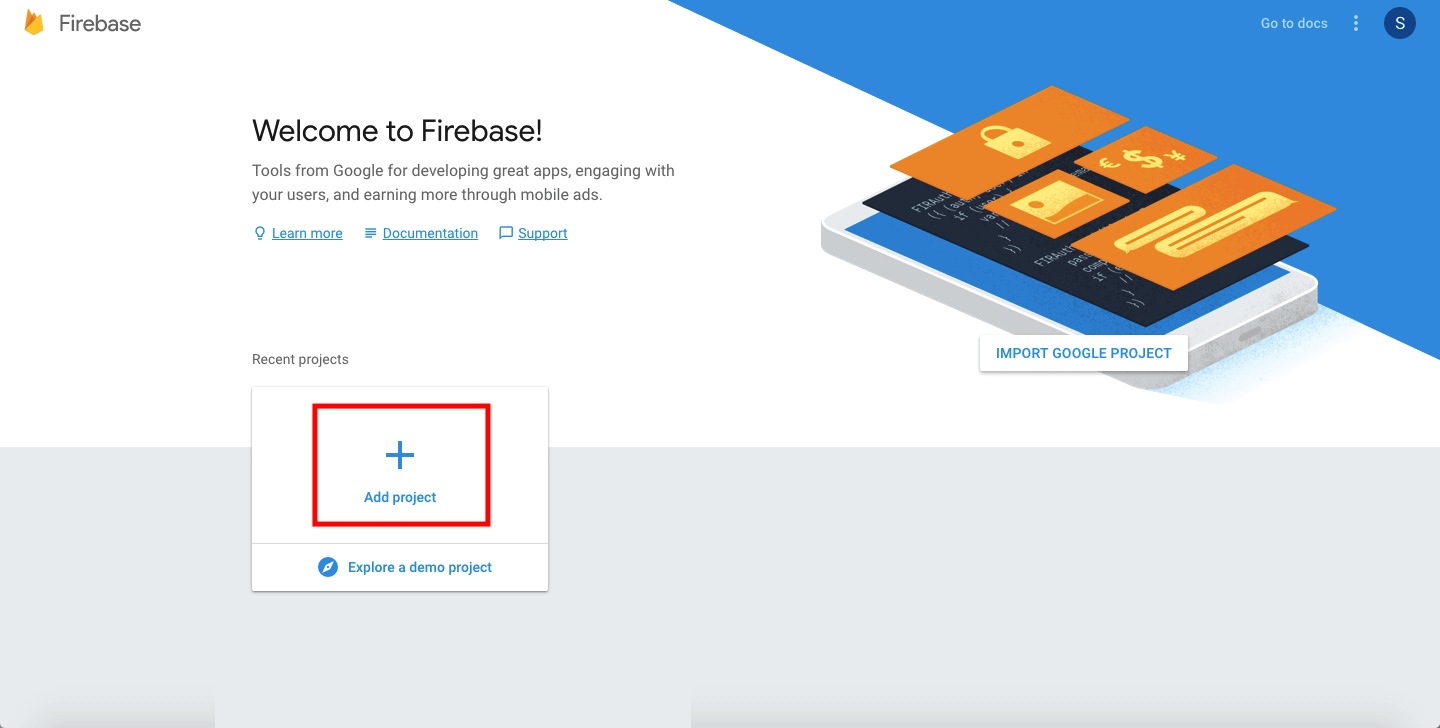 How to Obtain Your Firebase (Data) Url