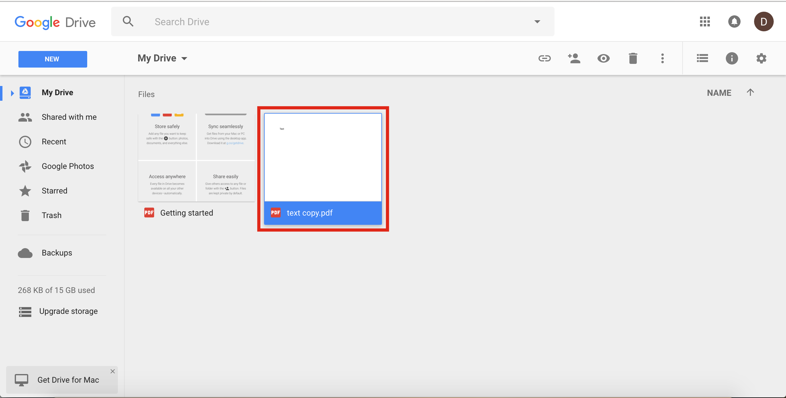 how to find my google drive