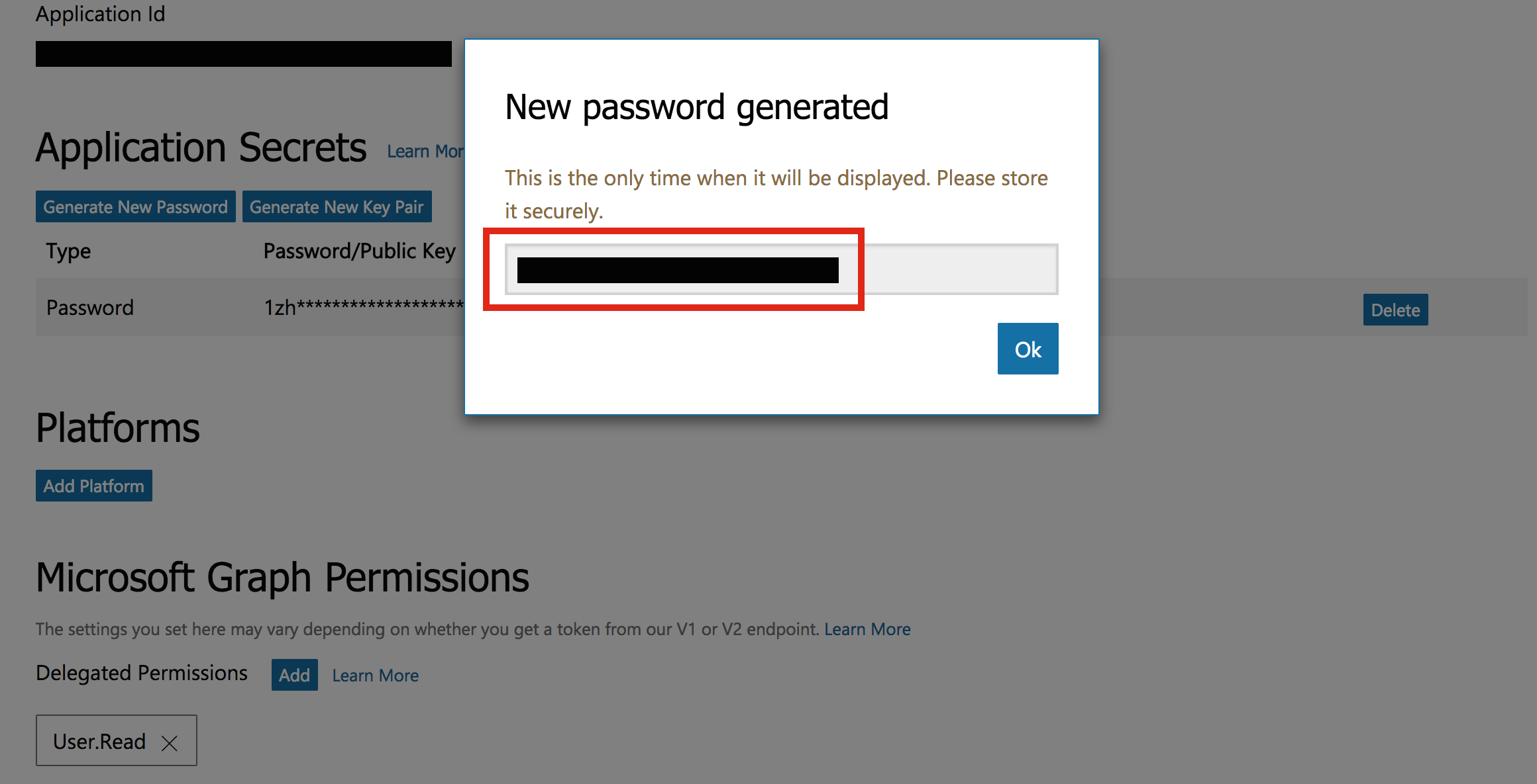 How can I get my Microsoft account Client ID and Client Secret key