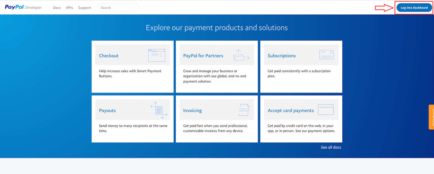 How to configure PayPal Payments Pro account