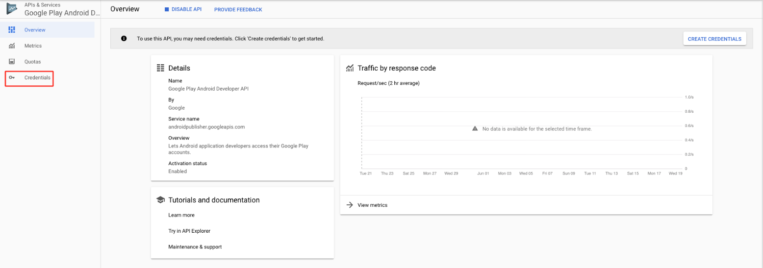 How to find Google account Client ID and Client Secret key