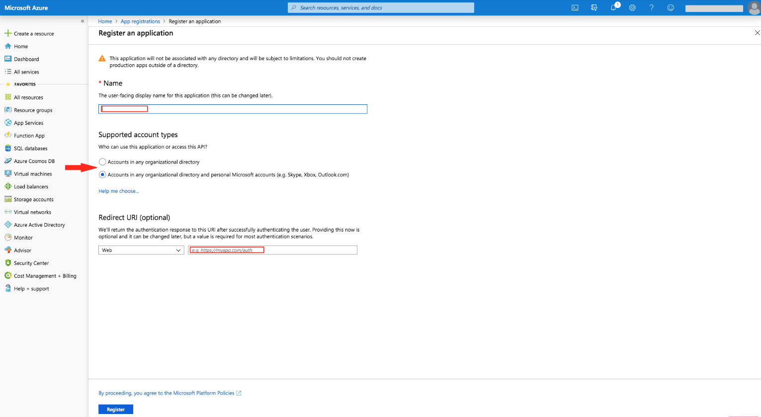 How can I get my Microsoft account Client ID and Client