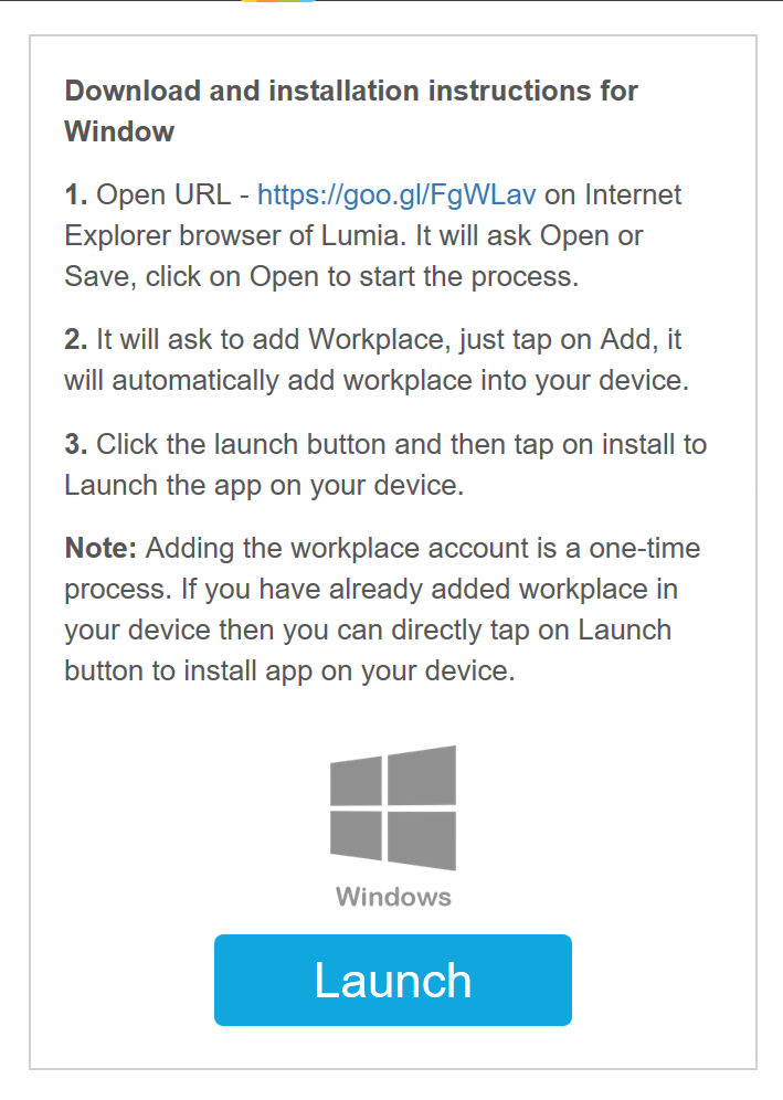 How to install app on your windows 10 device