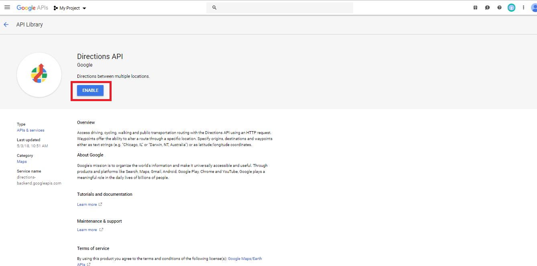 How can I get Google API Key