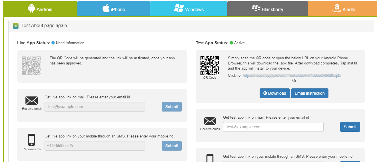 I have Designed My App & Published it by Subscribing to one of your Paid Plans, What's next